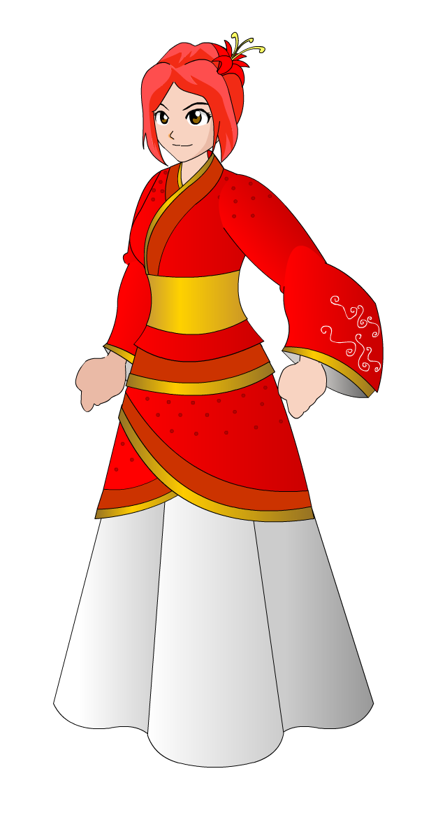 Costume clipart game. Item traditional chinese by