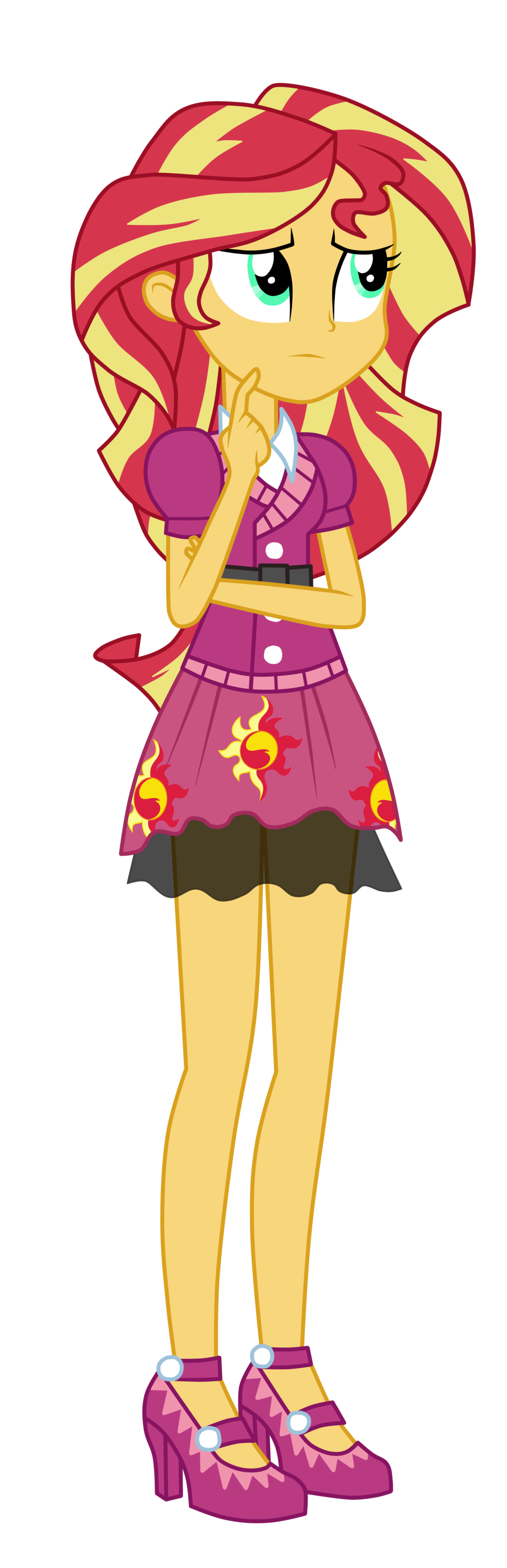 Sunset shimmer friendship games. Costume clipart game