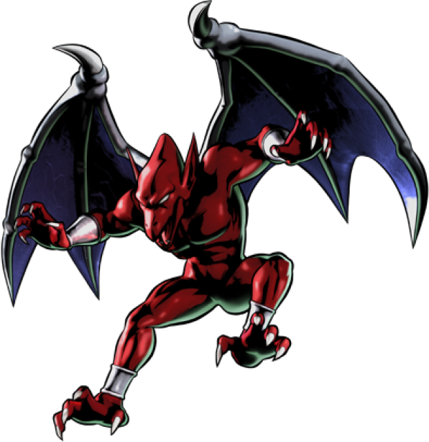 Firebrand character giant bomb. Costume clipart ghost and goblin