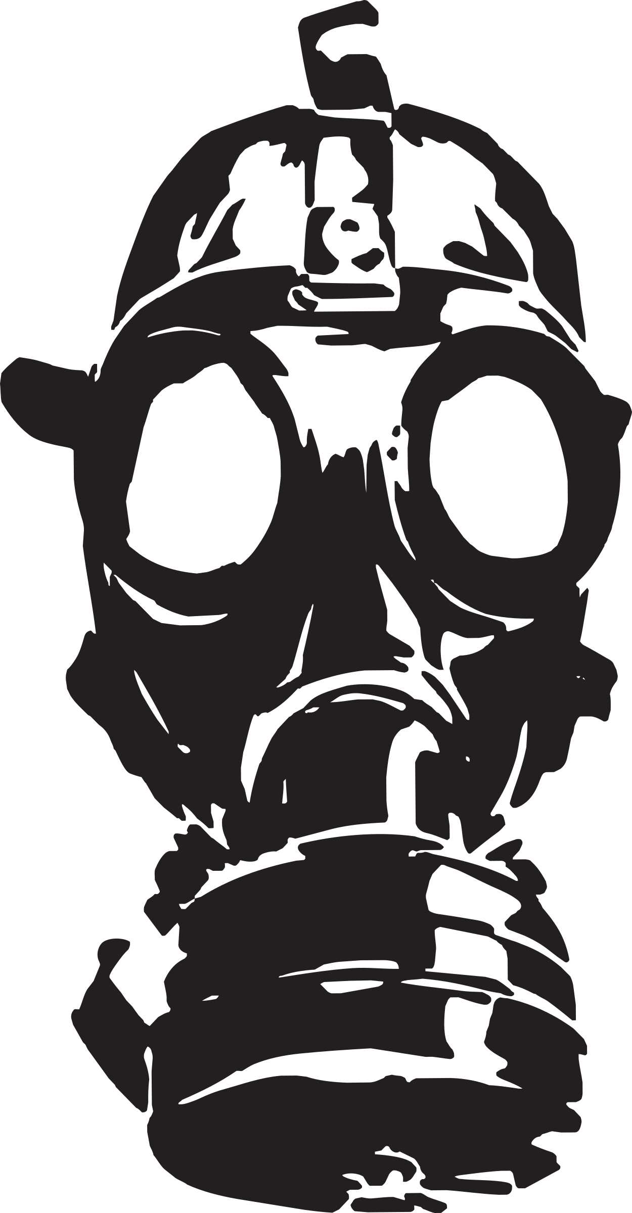 Mask clipart gas mask.