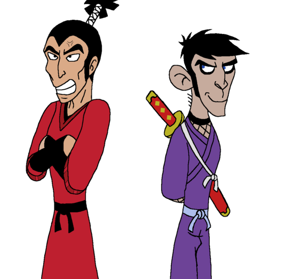 Ninja murasaki and fist. Costume clipart monkey