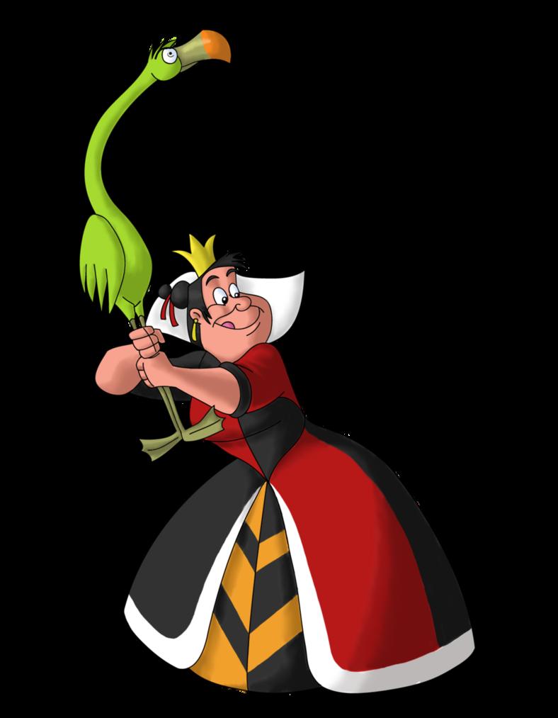 Queen of hearts png. Disney villain october the