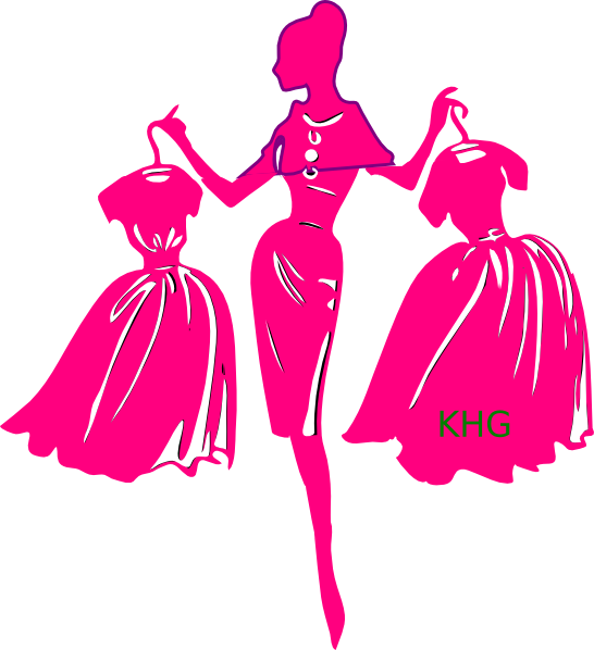 Shopper clip art at. Costume clipart pink