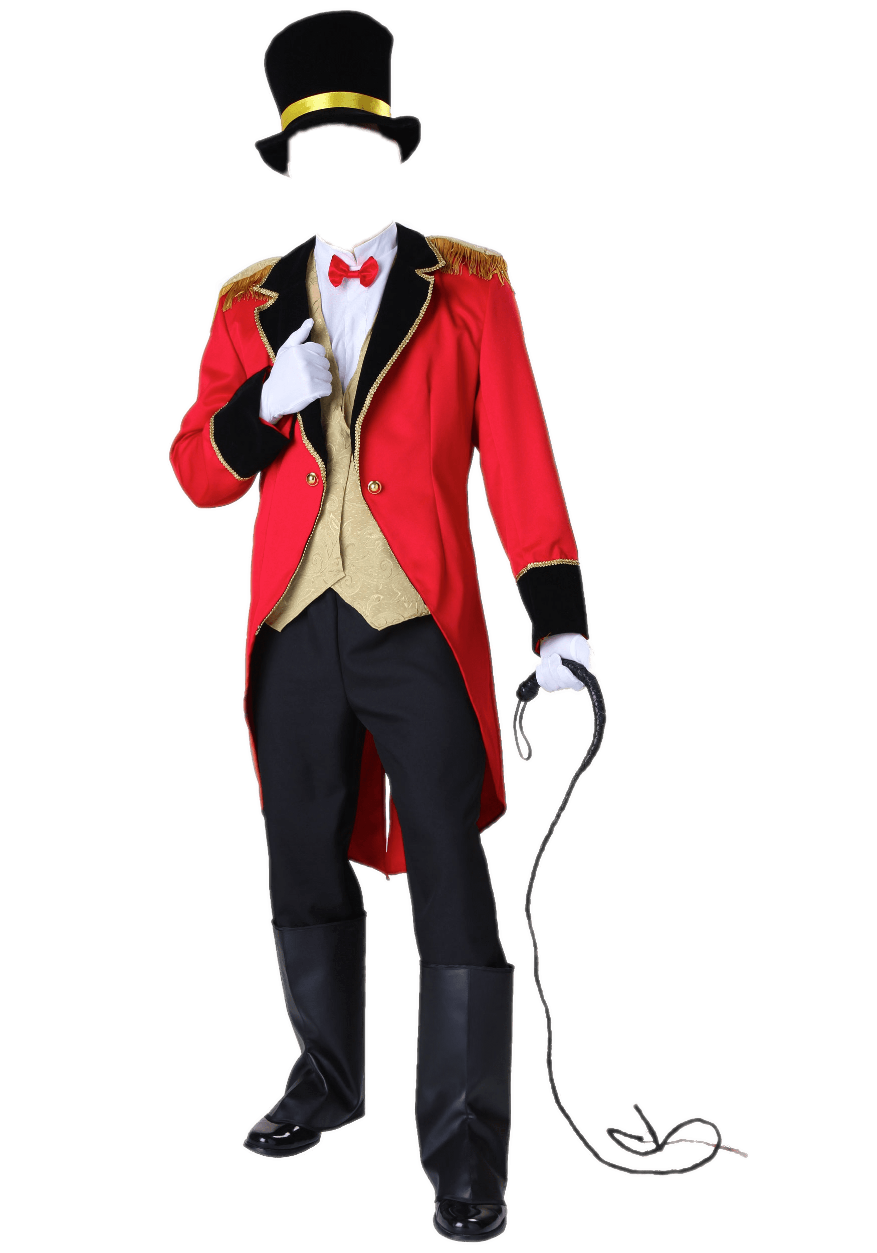 Transparent png stickpng ringmaster. Costume clipart pirate costume