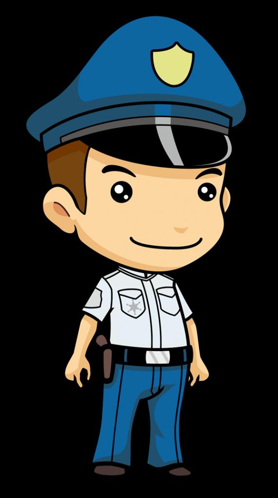 Tool clipart policeman. Free music cartoon clip