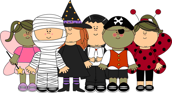Costume clipart printable. Halloween costumes templates and
