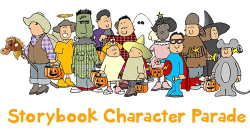Costume clipart storybook character parade. Somerset academy east preparatory