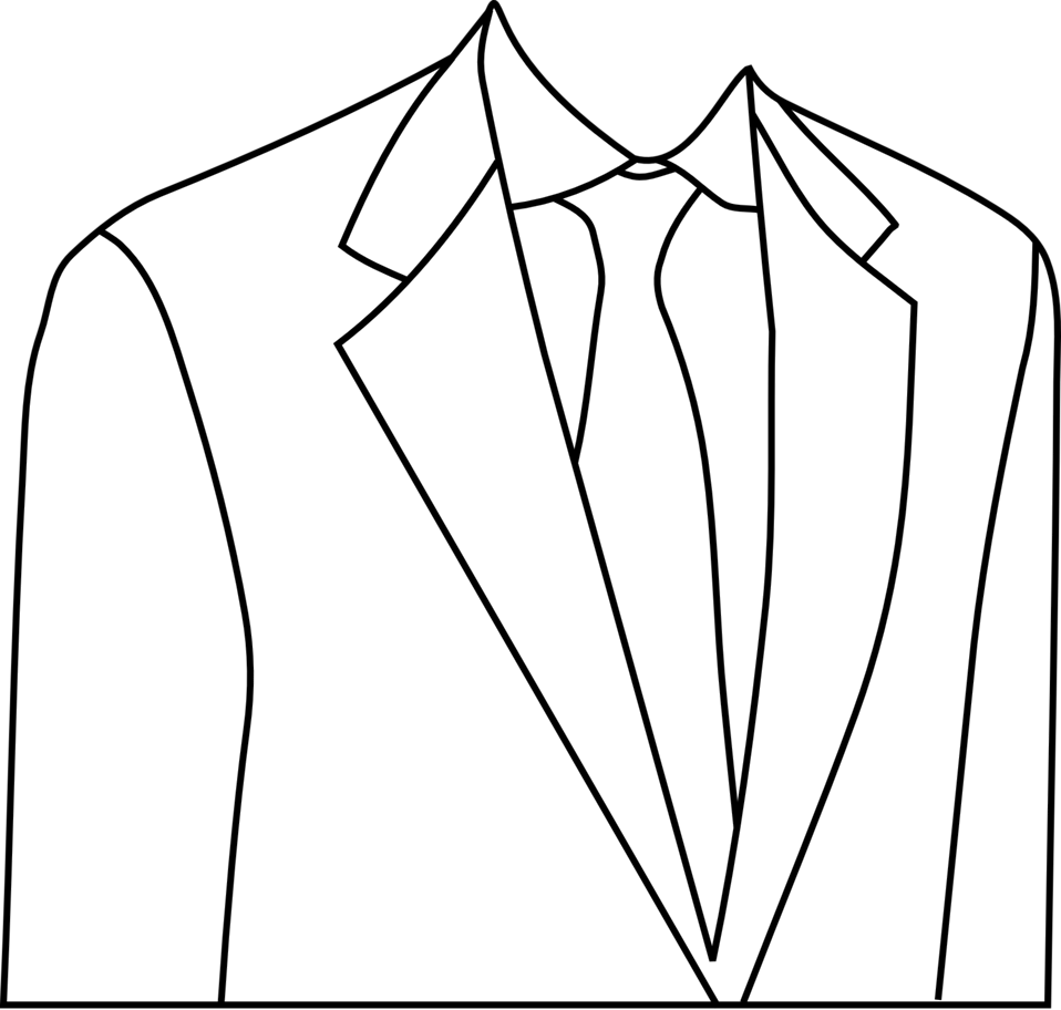 Public domain clip art. Jacket clipart non
