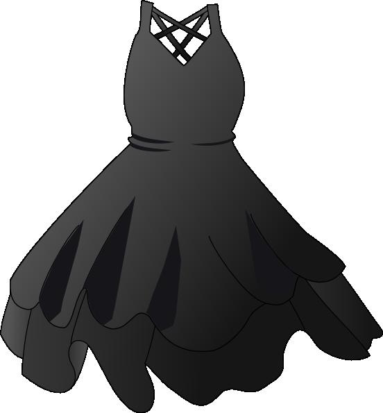 Black dress clip art. Costume clipart suit