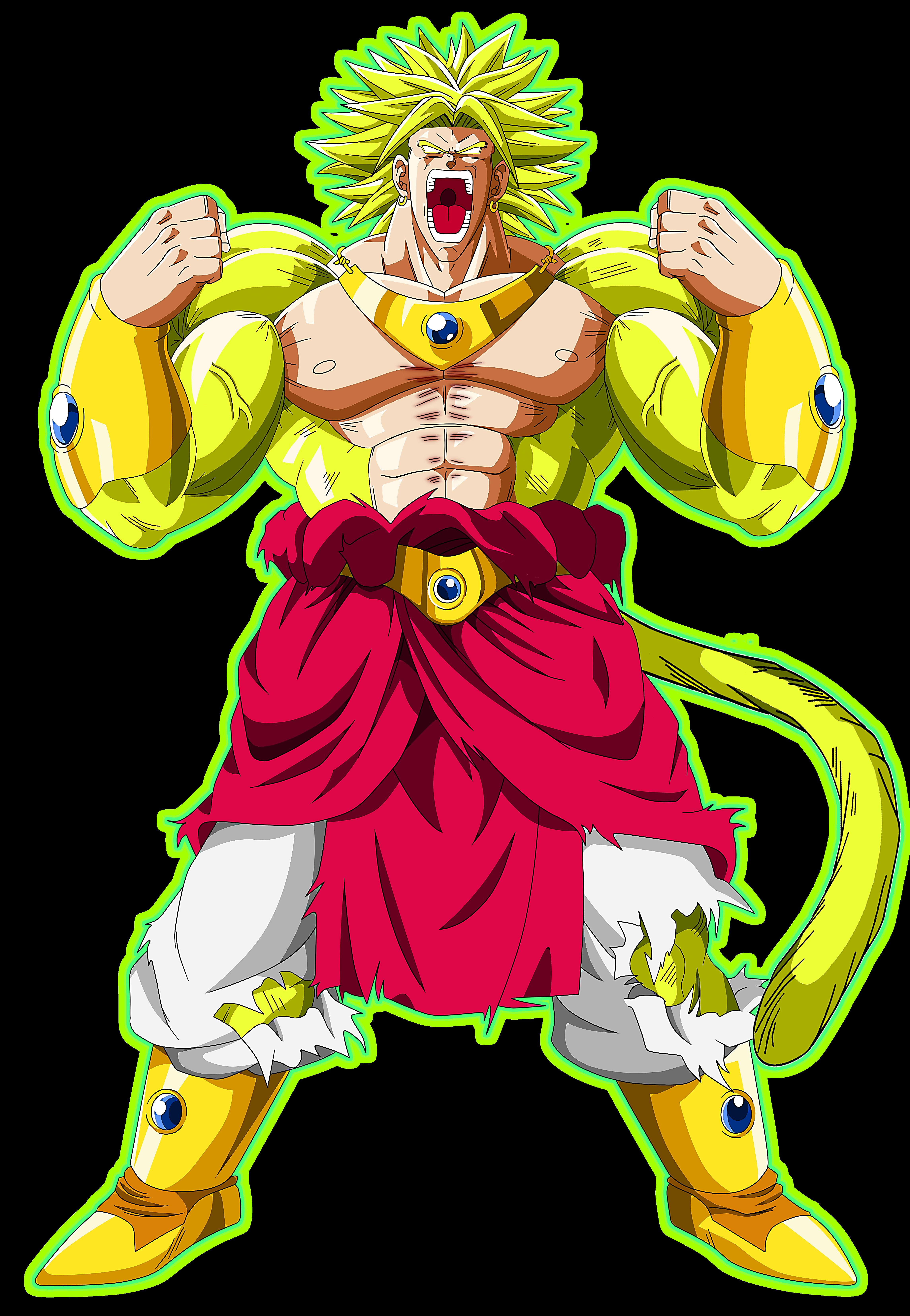 Legendary super saiyan broly. Costume clipart supe