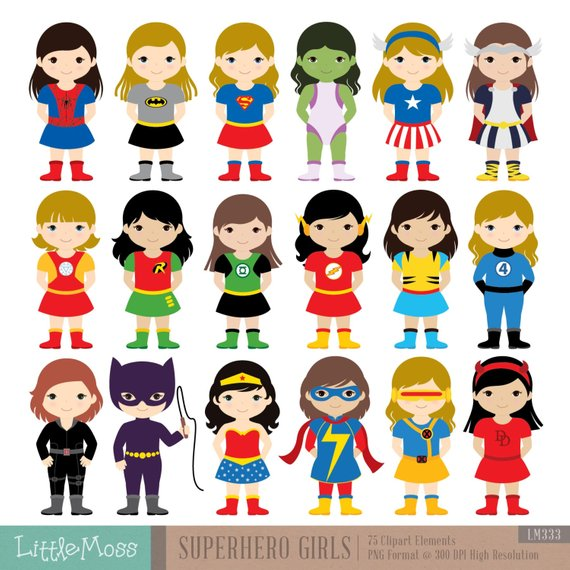 Superheroes clipart superhero team. Pin on products