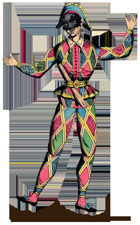 Costume clipart theater costume. Commedia dell arte arts