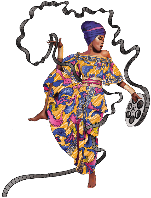 Cascade festival of african. Costume clipart theater costume