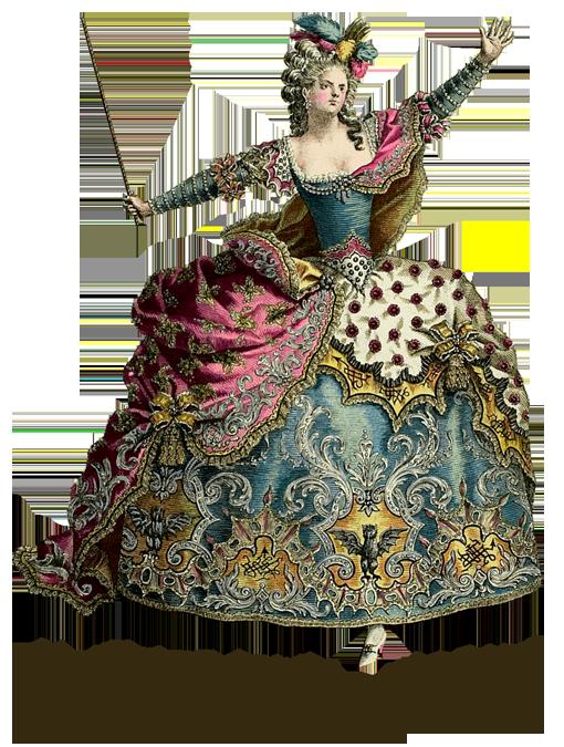 Late th century opera. Costume clipart theater costume