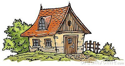 Cottage clipart. Old clip art houses