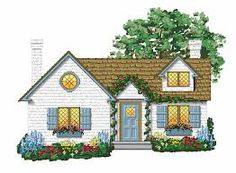 Cottage clipart. The best houses images