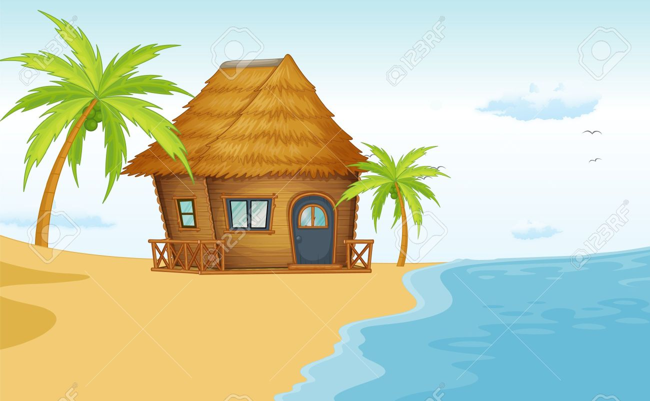 Cottage clipart beach cottage. Free cliparts download images