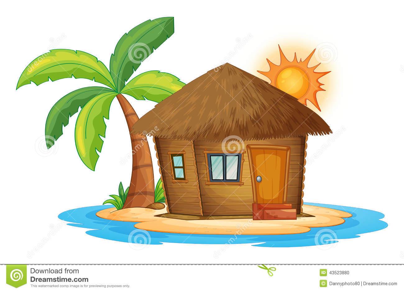cottage clipart beach cottage