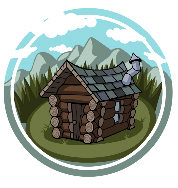 Home davidson campground subscribe. Cottage clipart camp cabin