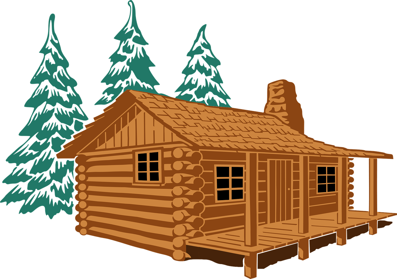 My nanowrimo experience the. Cottage clipart camp cabin