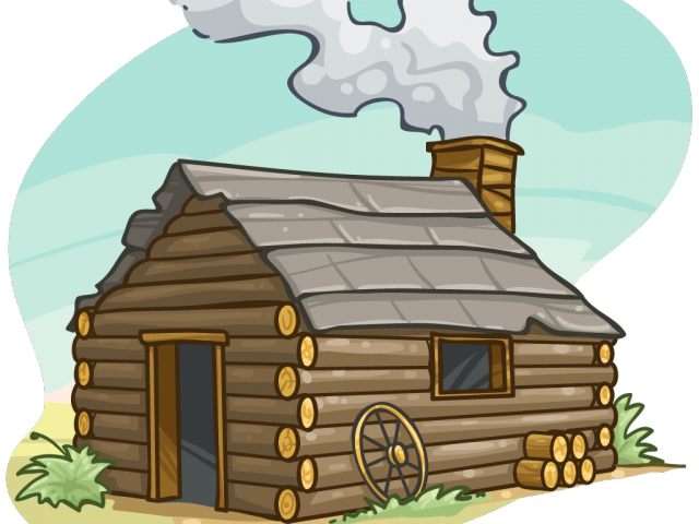 Cabin frame free on. Cottage clipart cottage house