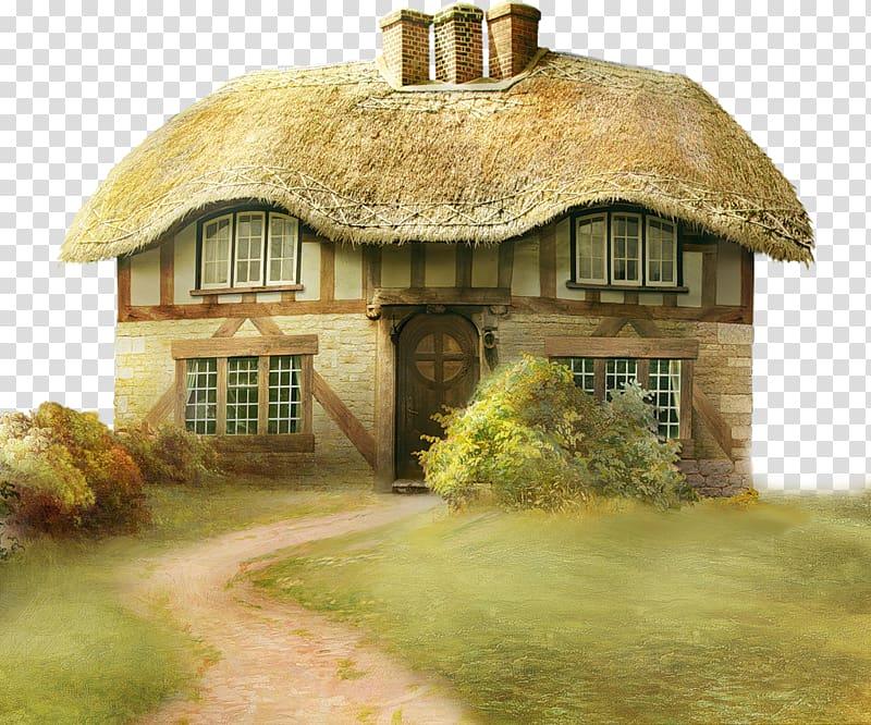 Cottage clipart cottage house. Art painting transparent background