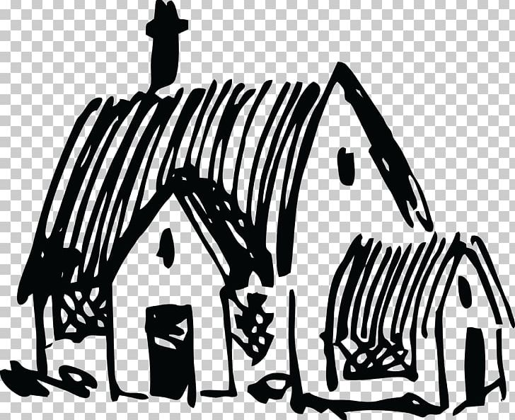 Cottage clipart cottage village. House png black and