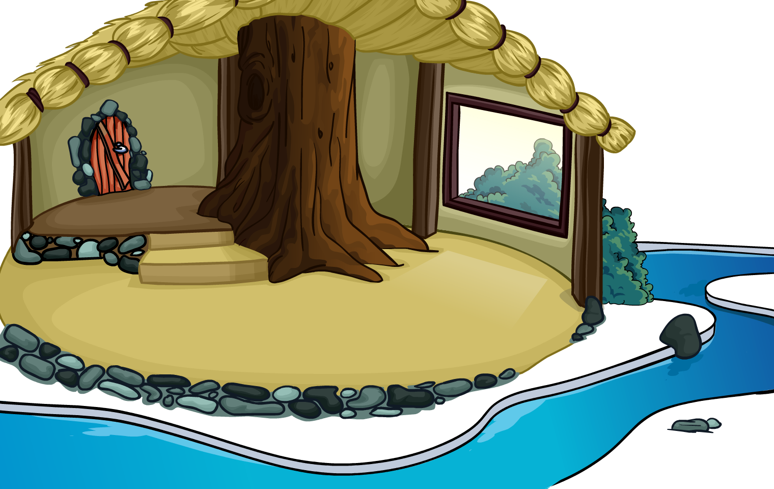 Cottage clipart cozy cottage. Igloo club penguin rewritten