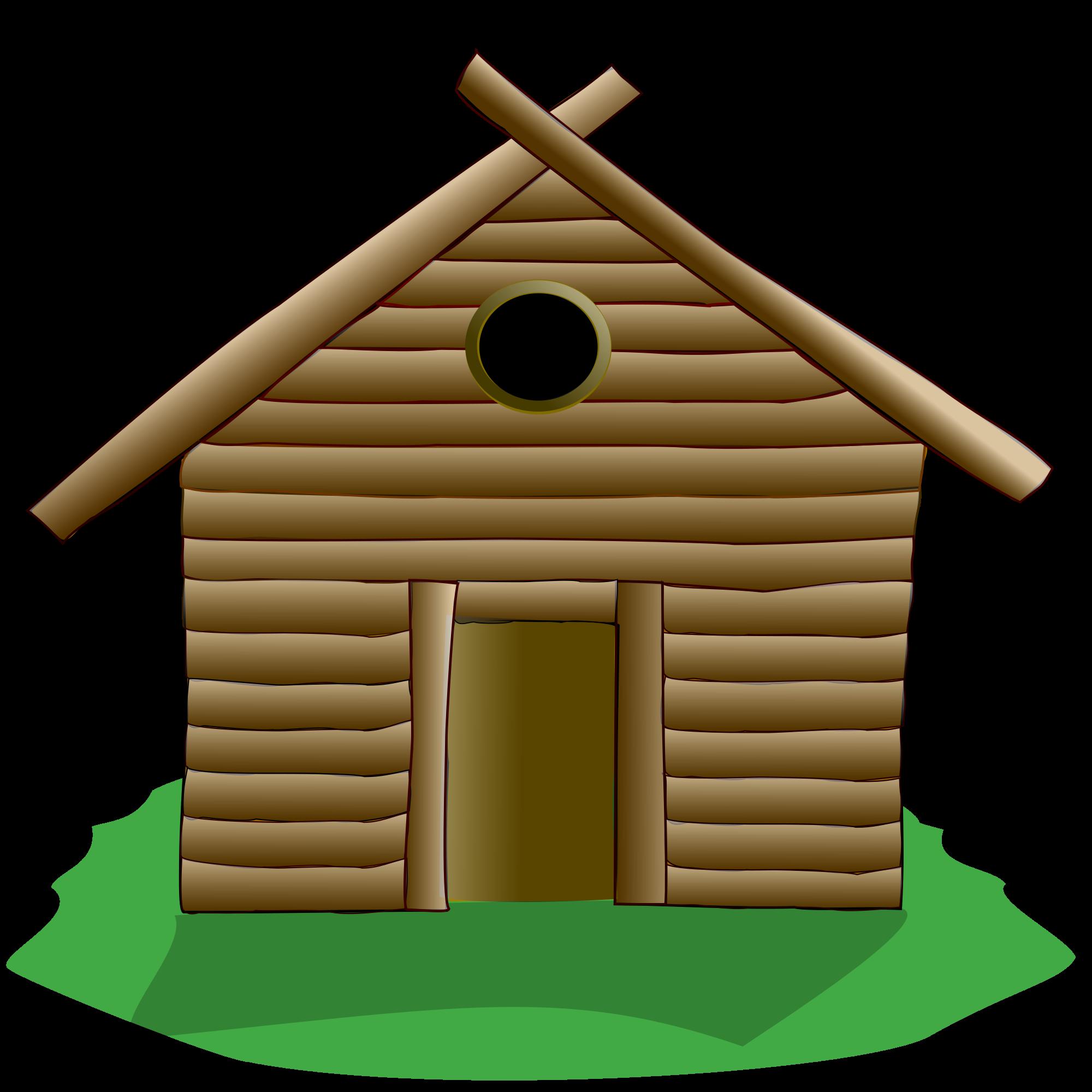 Cottage clipart english cottage. File tux paint wooden
