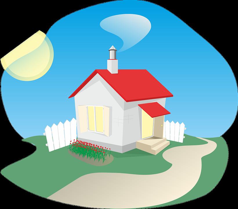house free illustration. Cottage clipart english cottage