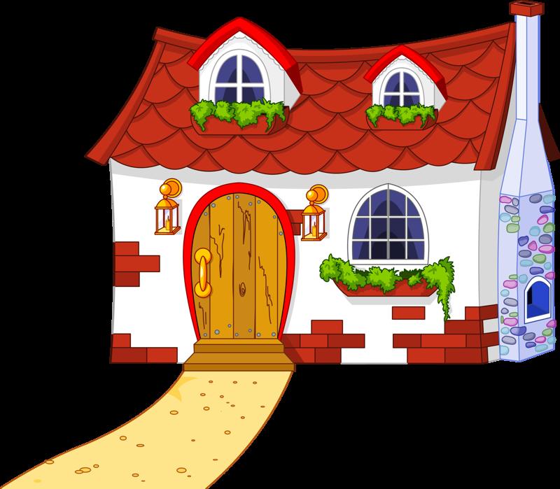 Cottage clipart fairytale cottage. Town png pinterest clip