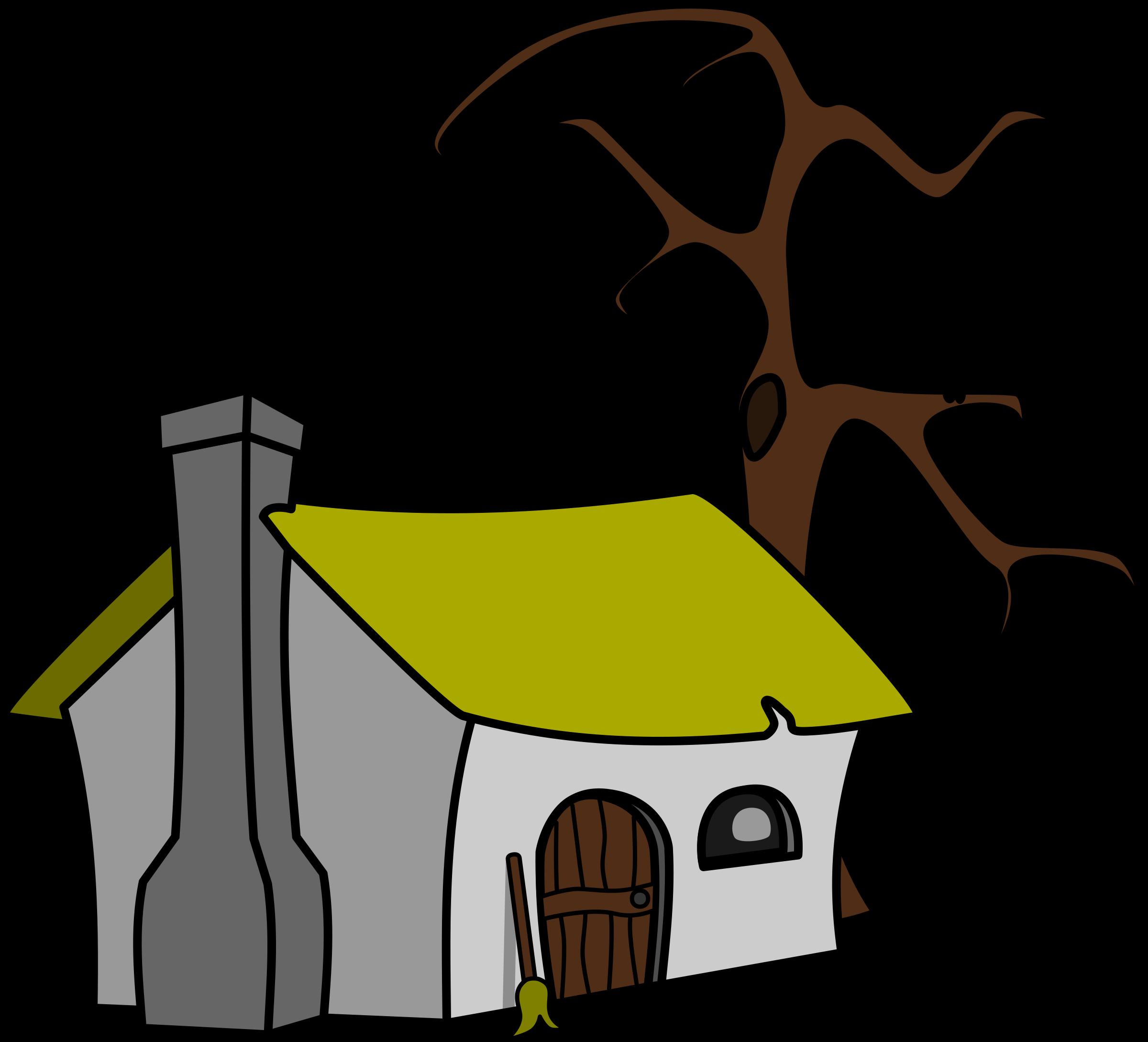 Cottage clipart fairytale cottage. Witch s big image