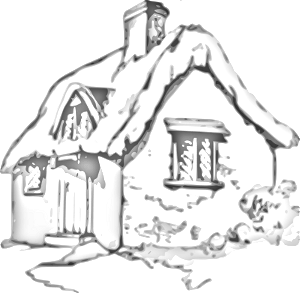 Image of . Cottage clipart free clip art