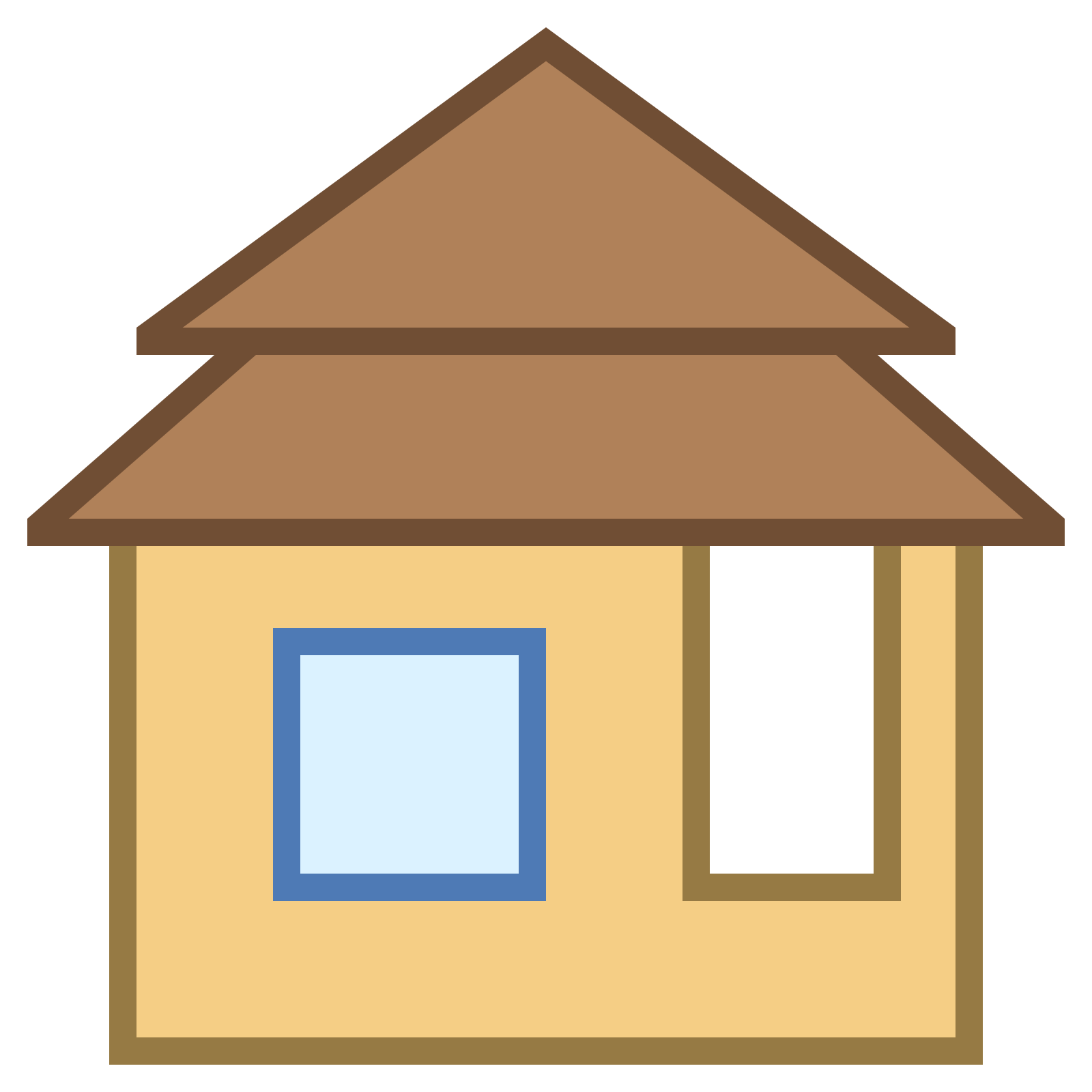 Cottage clipart free clip art. Bungalow icon download at