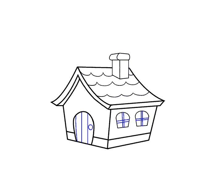 How to draw a. Cottage clipart hansel and gretel