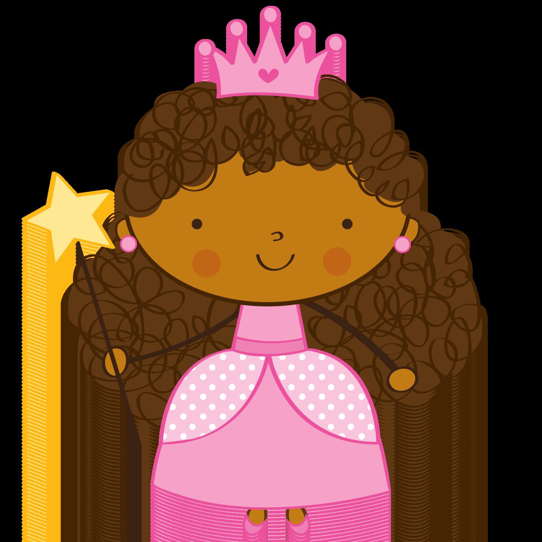 Queen clipart melanin. Princesas e fadas prin