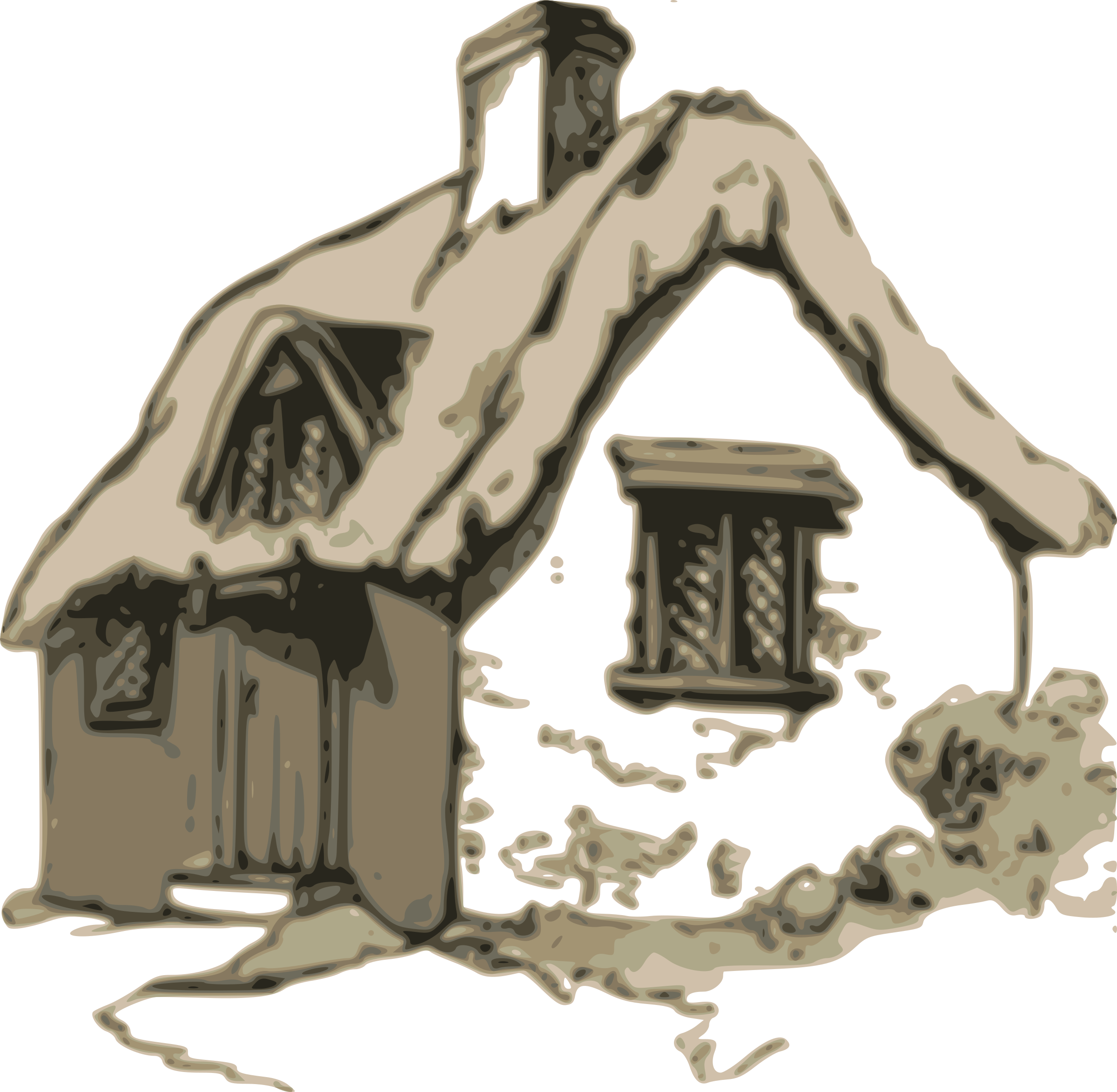 Cottage icons png free. Winter clipart cabin