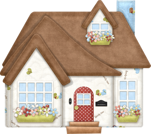 Pin by viktoria gruzd. Cottage clipart house family