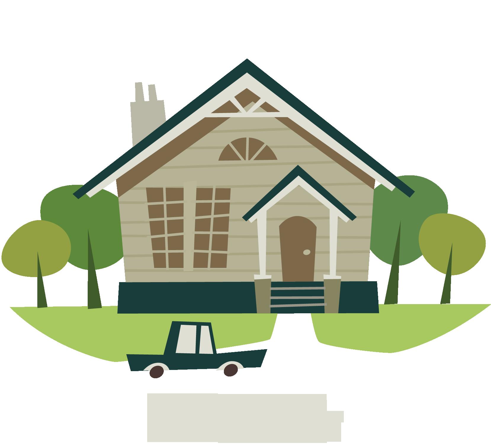 Dms marketing inc e. Cottage clipart house lot