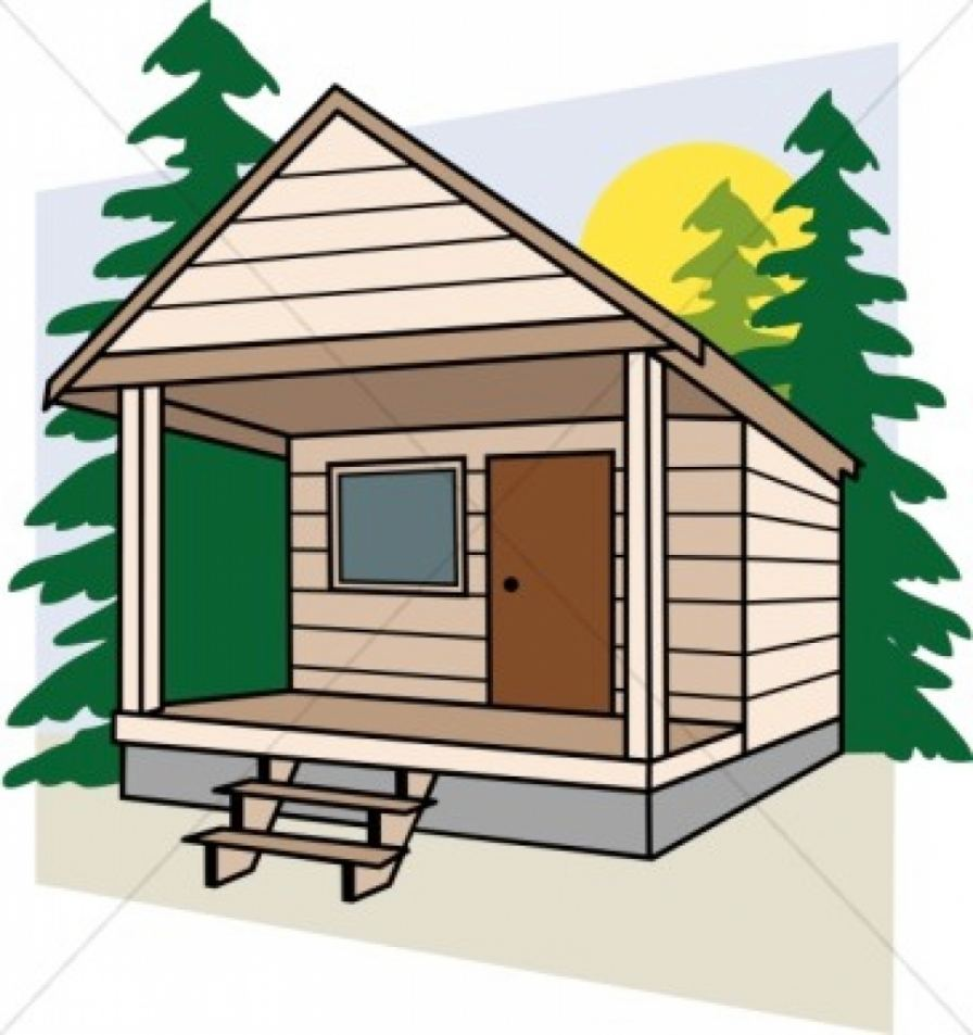 Hunting clipart cabin in woods. The free download best