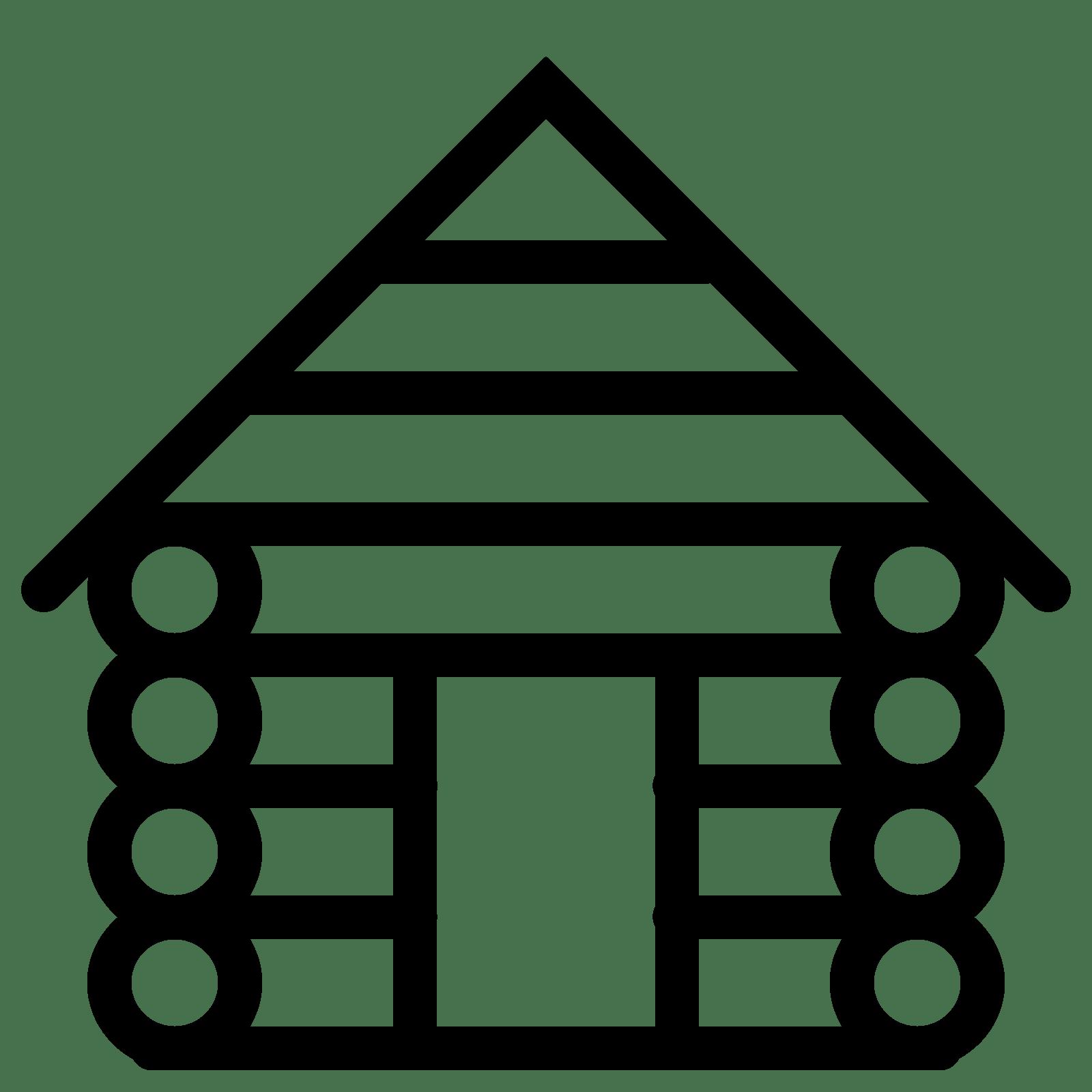 Cabin png free transparent. Cottage clipart hut