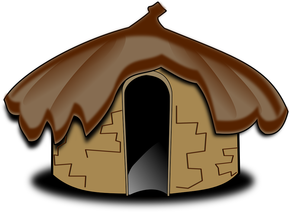 Bungalow free collection download. Cottage clipart hut