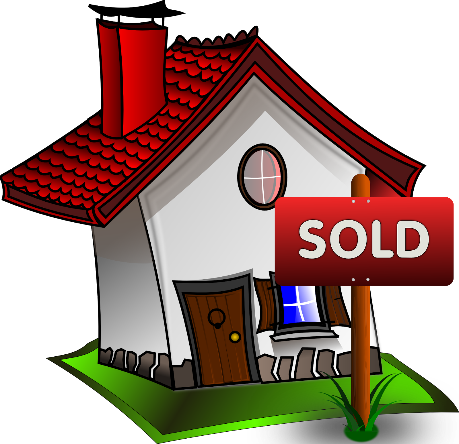 House sold png. Honest and hardworking professional
