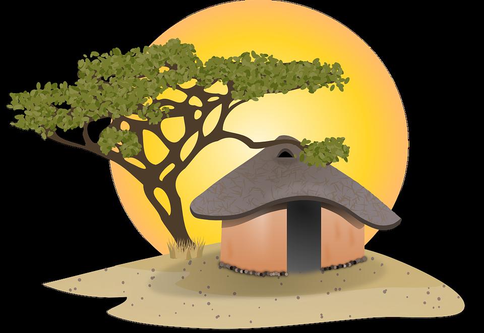 Worm clipart soil clipart. Cabin village hut pencil