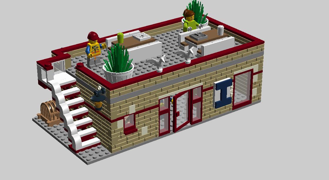 Lego ideas product harbour. Cottage clipart medieval building