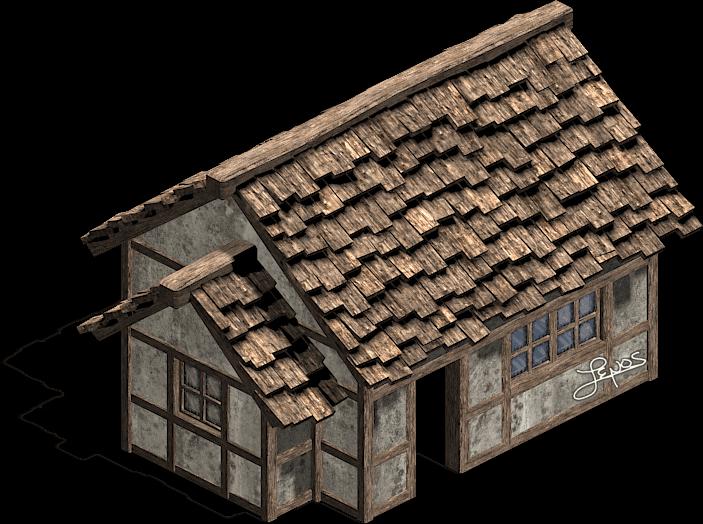 Cottage clipart medieval building. Sprites freelance game artist