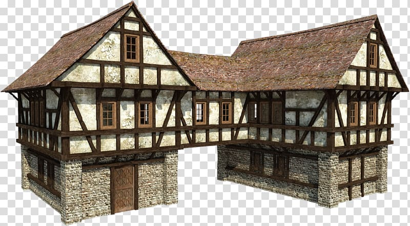 Cottage clipart medieval house. Minecraft middle ages manor
