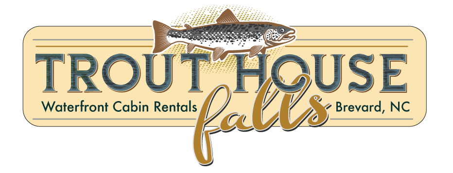 Trout clipart brook trout. Brevard nc waterfront cabins