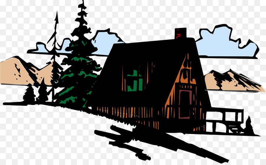 Cottage clipart mountain cabin. Cartoon house
