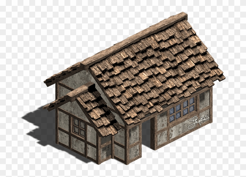 Cottage clipart old cottage. House cabin building hd